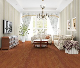 必美地板,实木复合,橡木材质