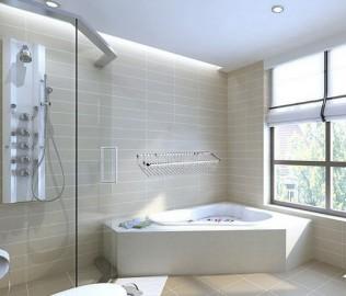丰华卫浴,置物架,铜镀铬