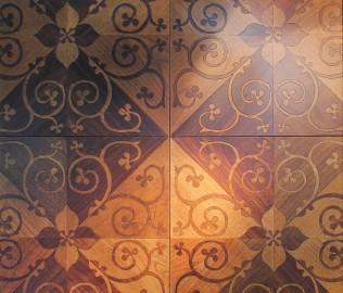 复合实木,必美地板,拼花