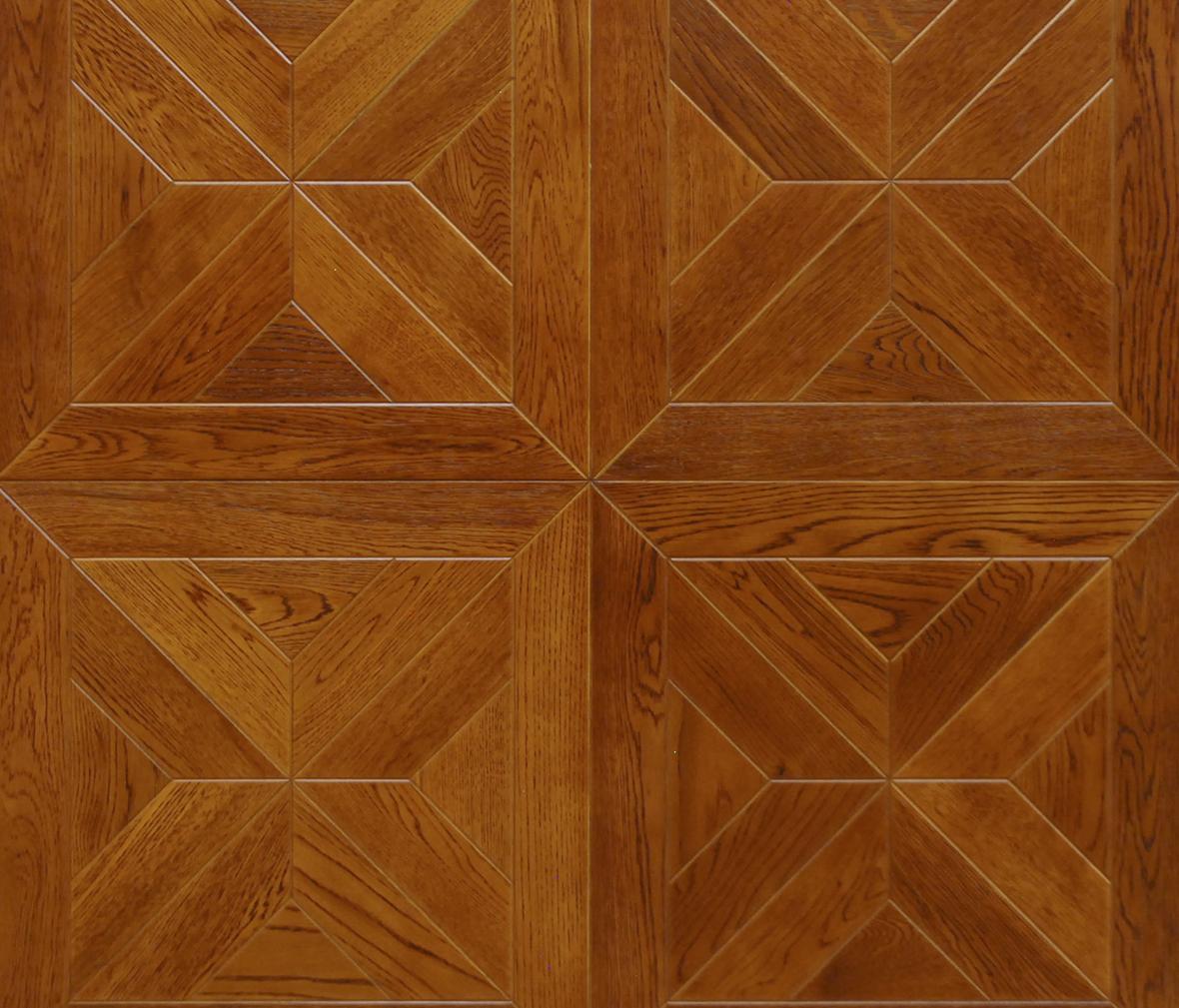 大自然地板 pd803型号 栎木拼花 实木地板 适用于地暖图片