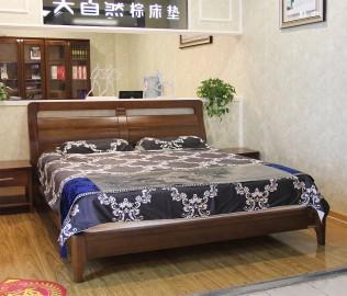 大自然,床,实木床架