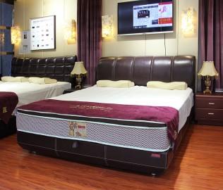 蕾丝床垫,双人床,床架
