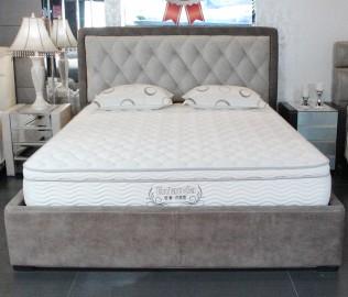 爱蒙,床架,布艺床架