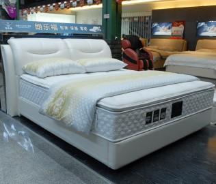 朗乐福,双人床,床架