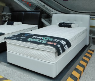 朗乐福,床架,单人床
