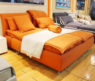 蒙丽,电动床,双人床