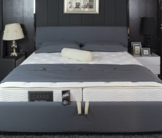 欧嘉璐尼,双人床,布艺软床