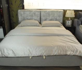 欧嘉璐尼,布艺软床,双人床