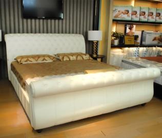 邓禄普,床架,双人床