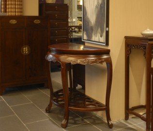 兰鼎犀,餐桌,半圆桌