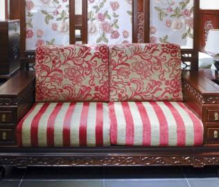 兰鼎犀,双人沙发,中式沙发