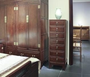 兰鼎犀,榆木柜子,中式古典