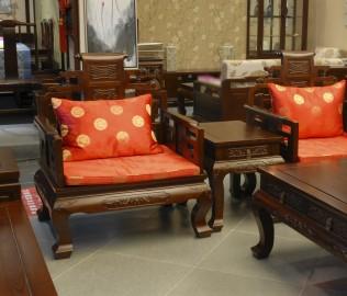 兰鼎犀,单人沙发,中式沙发