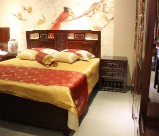 兰鼎犀,床头柜,榆木柜子