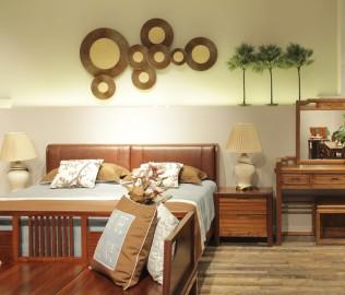 意生缘,意风家具,床头柜