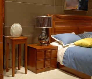 京通光明,实木家具,花架