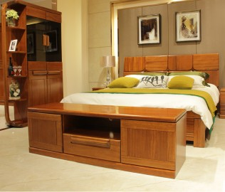 京通光明,实木家具,电视柜