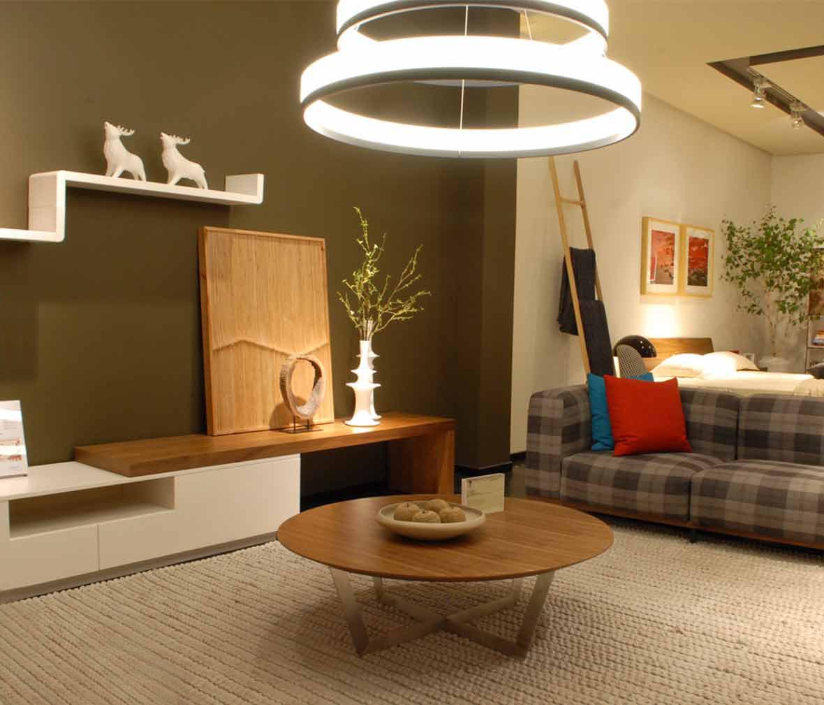 尚景家具 ct380型号 茶几 胡桃木材质 北欧简约风格