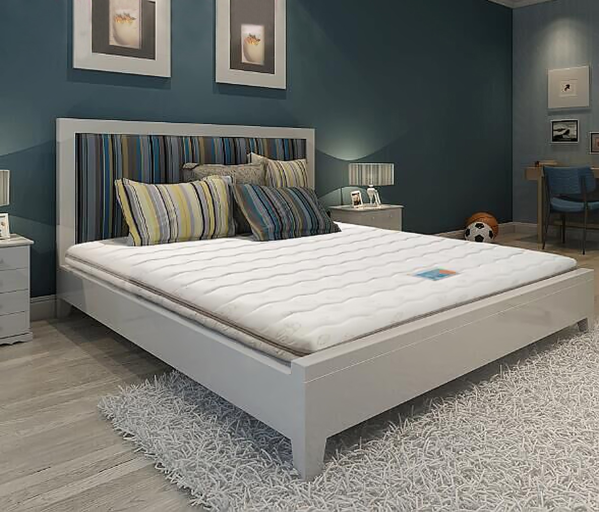 穗宝床垫 梦想号型号 1200*1900mm 弹簧床垫 单人床垫