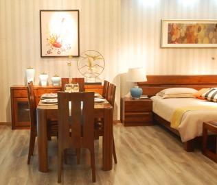 江南宜家,餐椅,实木家具