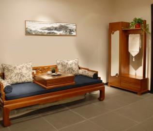 一品木阁,实木家具,门厅柜