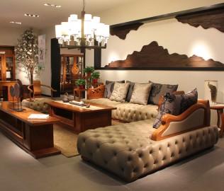 一品木阁,实木家具,沙发