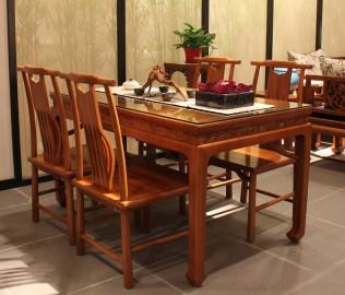 一品木阁,实木家具,餐椅