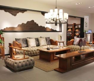 一品木阁,实木家具,休闲椅
