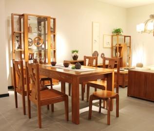 一品木阁,实木家具,凳子
