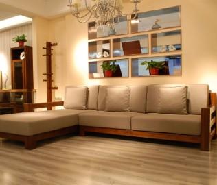 江南宜家,转角沙发,实木家具