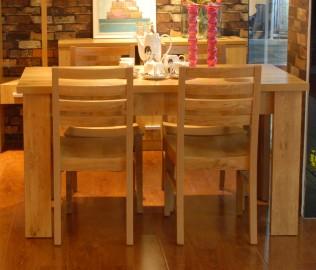小桔灯,餐桌,桌子
