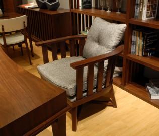 光禾梵度,休闲椅,实木家具