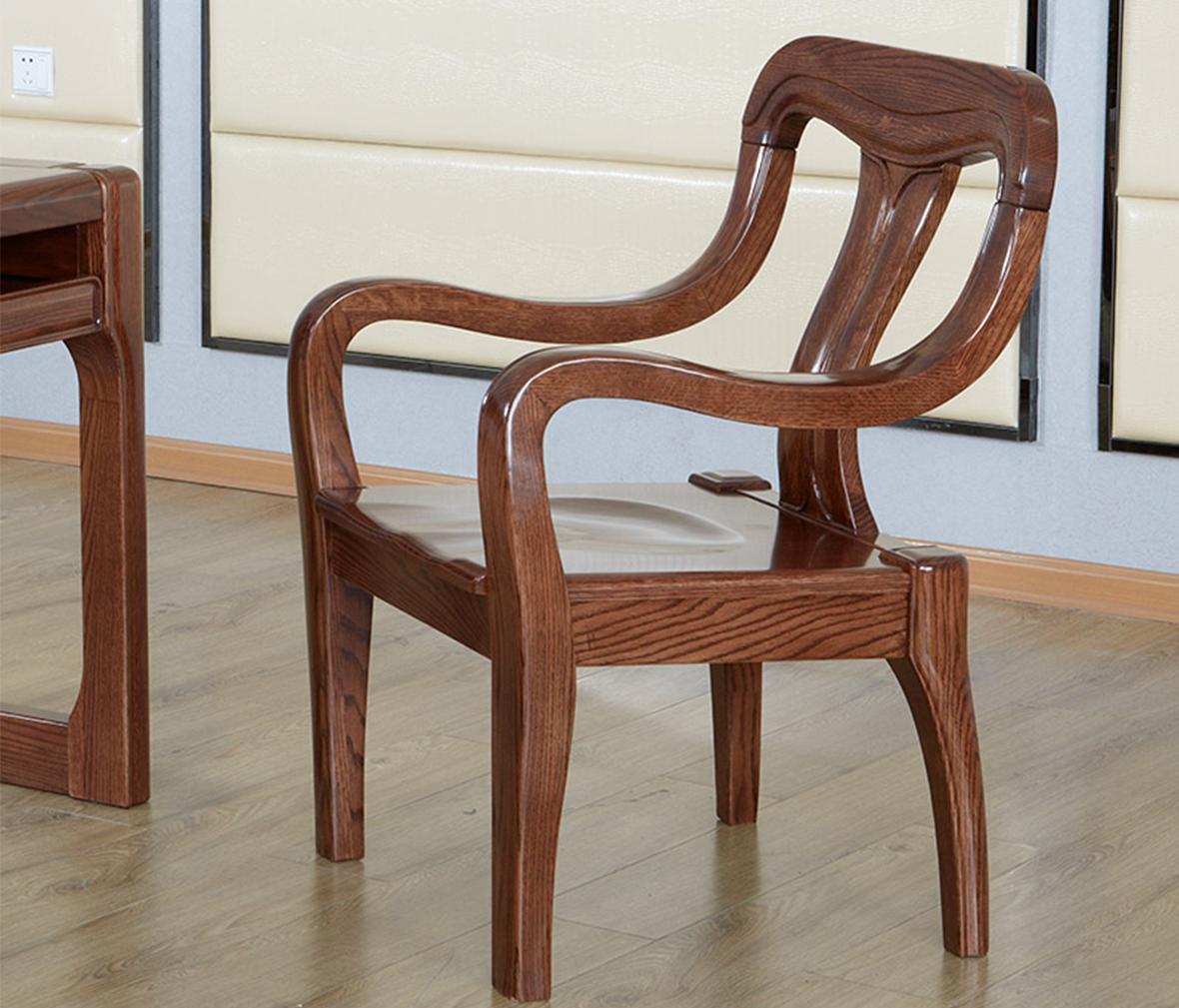 型号松木儿童椅 欧式风格实木椅