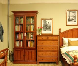 奶酪王国,实木家具,斗柜