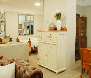 奶酪王国,实木家具,储物柜