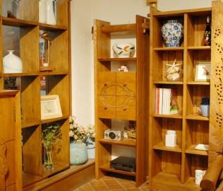 琢木家具,实木家具,书柜