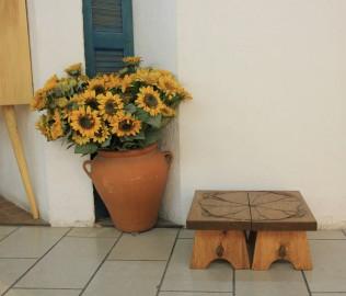 琢木家具,实木家具,凳