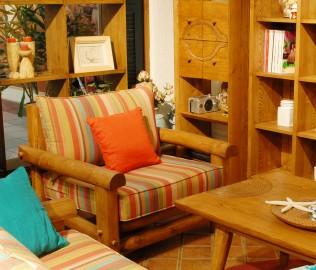 琢木家具,单人沙发,沙发
