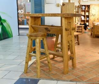 琢木家具,实木家具,吧台