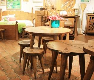 琢木家具,实木家具,凳子