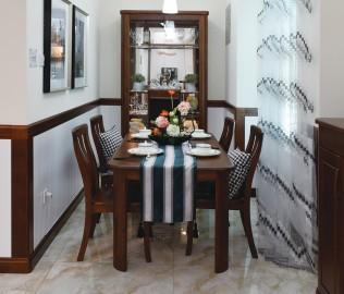 双叶,餐桌,水曲柳