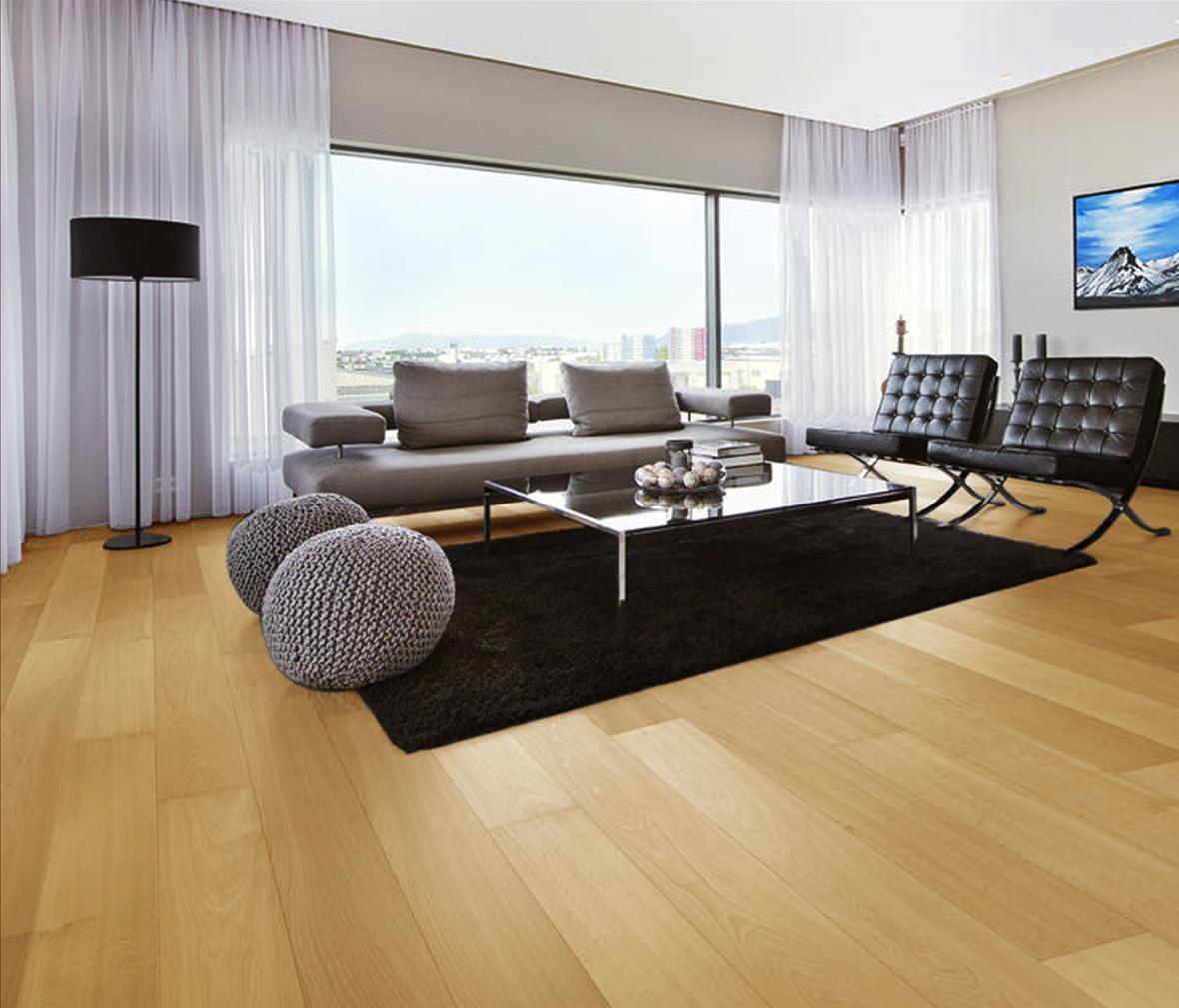 实木复合地板 适于地暖  眼缘:0  安信地板 多层实木地板 老榆木 金色