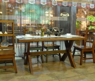 森林之源,核桃木,餐桌