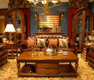 北卡罗,实木家具,茶几