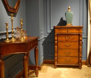 北卡罗,实木家具,五斗柜