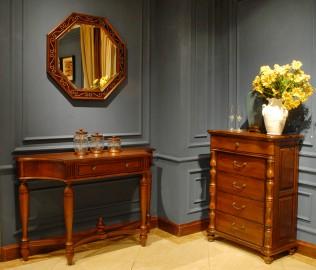 北卡罗,实木家具,玄关桌