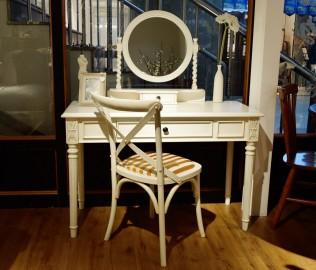 黎曼,实木家具,梳妆椅