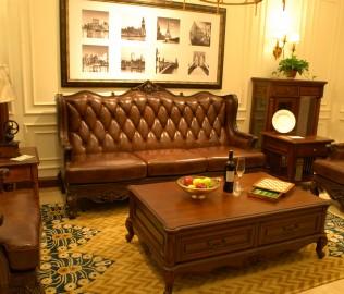 北卡罗,实木家具,沙发