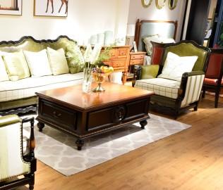 黎曼,实木家具,沙发