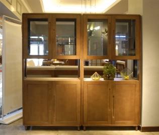 钛马迪,隔厅柜,实木家具